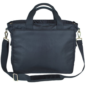 Good 2 Go Large Black Diaper Bag Back