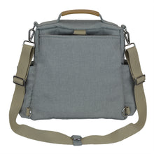 Out & About Gray Convertible Backpack Diaper Bag Crossbody Back