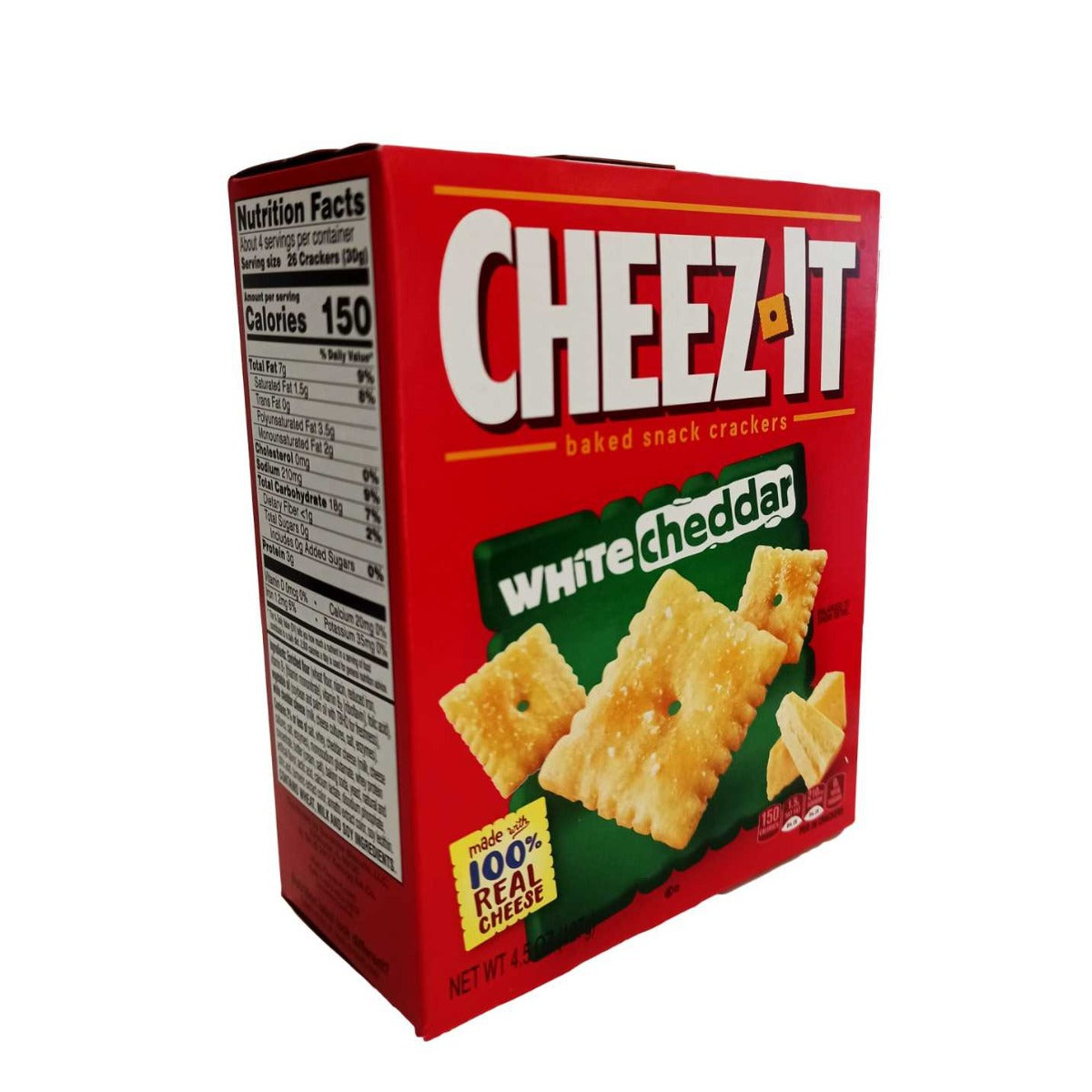 Cheez-IT קרקים מצופים צאדר