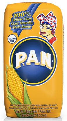 Pan Yellow Corn קמח תירס
