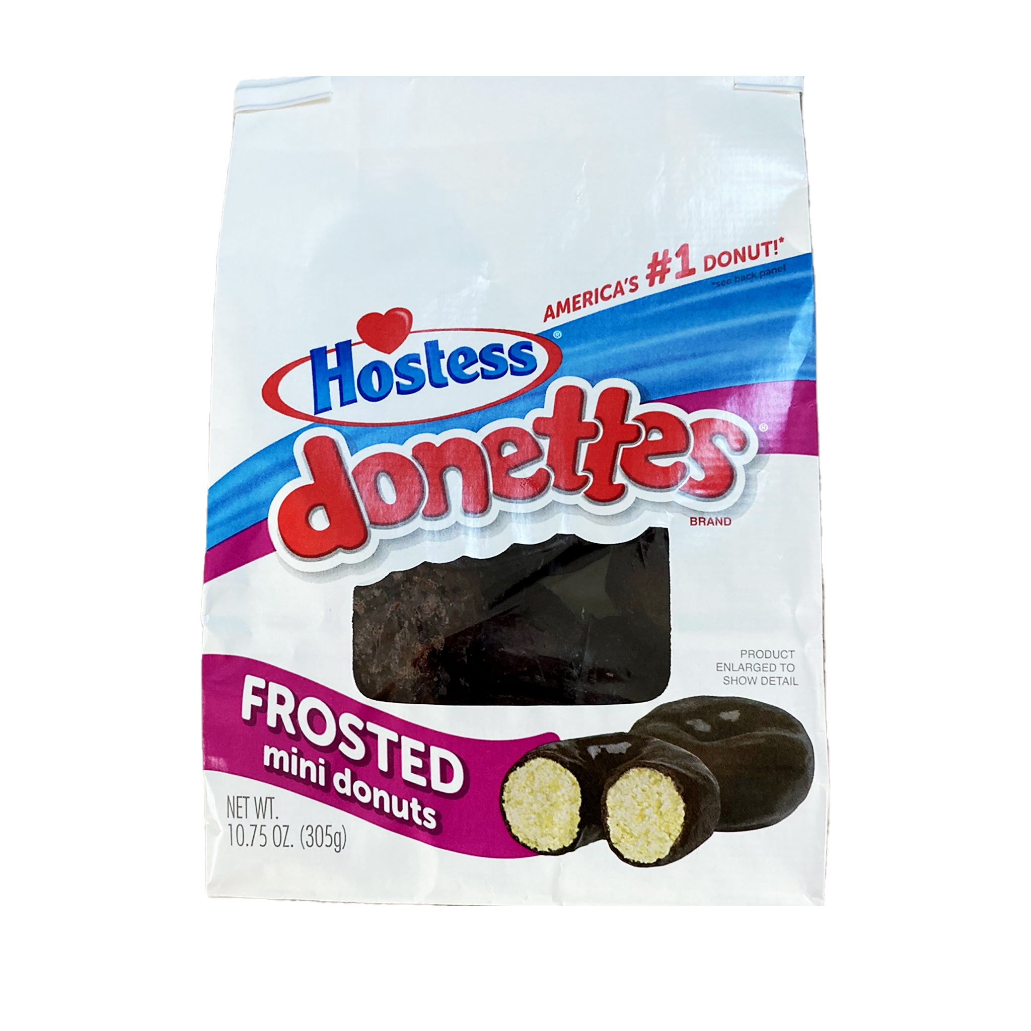 Hostess Donnettes frosted mini מיני דונאטס הוסטס - טעימים