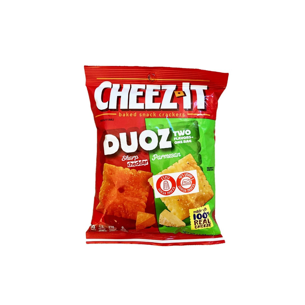 Cheez-IT Duoz Parmesan Cheddar  - ציז איט פרמזן צדר טעימים