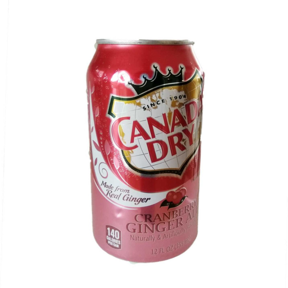 Canada Dry cranberry ginger ale - טעימים