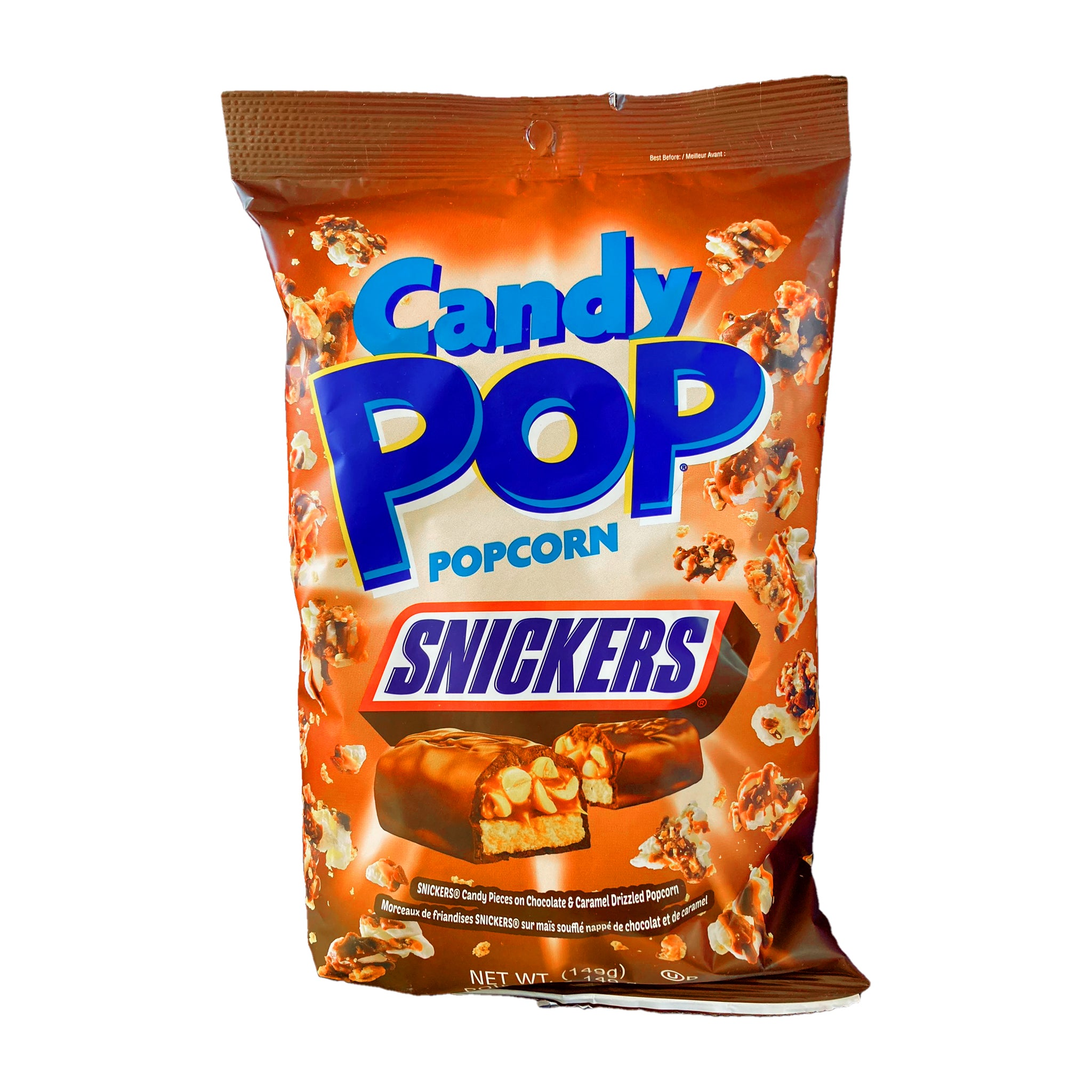 Candy Pop Snickers popcorn פופקורן סניקרס  טעימים