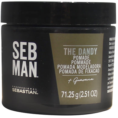 Seb Man The Dandy Pomada 75ml. -  Fijación ligera acabado pulido