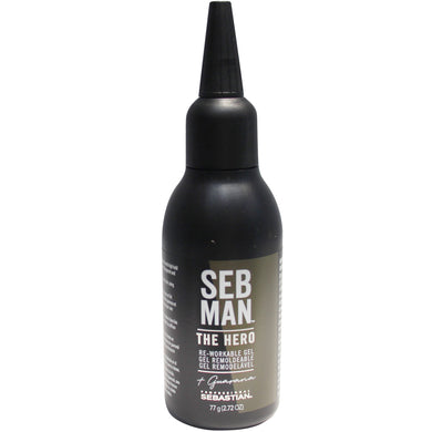 Seb Man The Hero Gel 75ml. -  Gel Remoldeable para el cabello