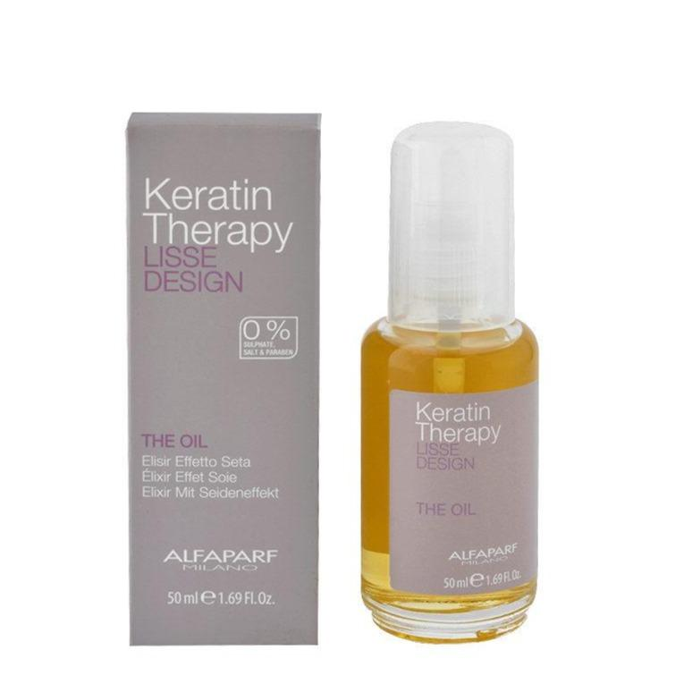 Lisse Design Keratin Therapy The oil 50ml - Aceite de keratina efecto seda
