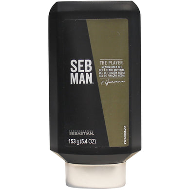 Seb Man The Player Styling Gel 150ml - Gel modelador frescura intensa
