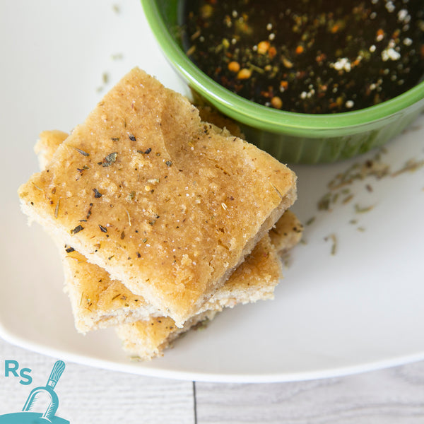 Focaccia: Our Sandwich Bread Mix, Yeast-Free Option