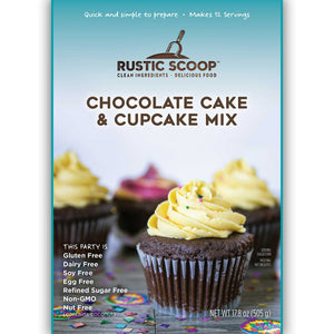 Chocolate Cake and Cupcakes Baking Mix