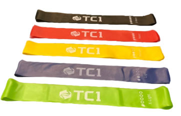 TC1 Jar, Belt & 5 pack of Resistance Bands