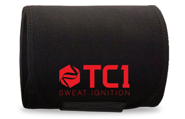 1 - 6.5 oz. Jar of TC1 and 1 - 41 inch TC1 Sweat Belt Combo Package
