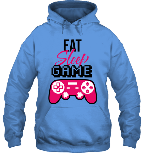 Eat, Sleep, Game Hoodie
