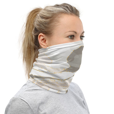 Marble Face Mask Headband & Neck Gaiter