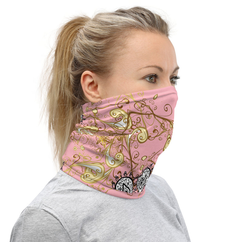 Mandala Face Mask & Neck Gaiter Headband