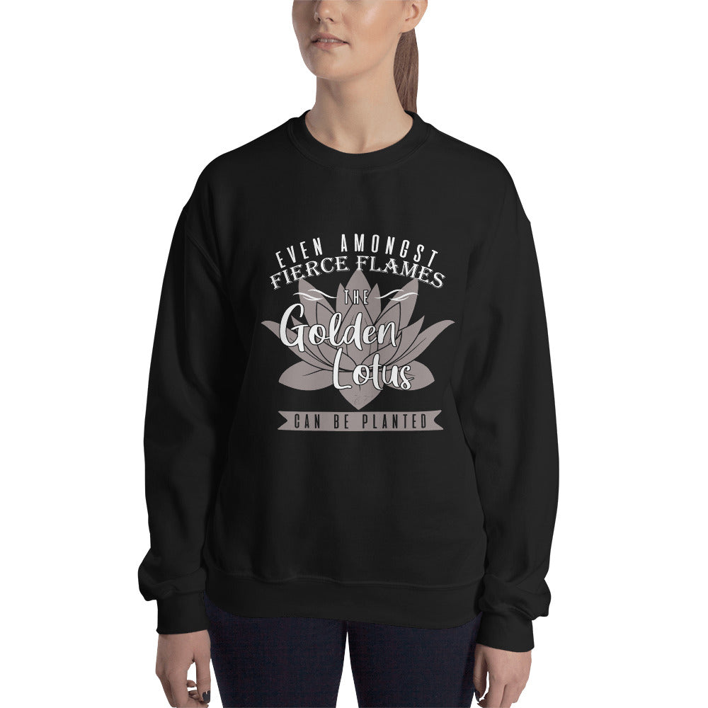 Golden Lotus Classic Fit Sweatshirt