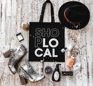 Shop Local Canvas Tote