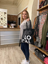 Load image into Gallery viewer, Shop Local Canvas Tote
