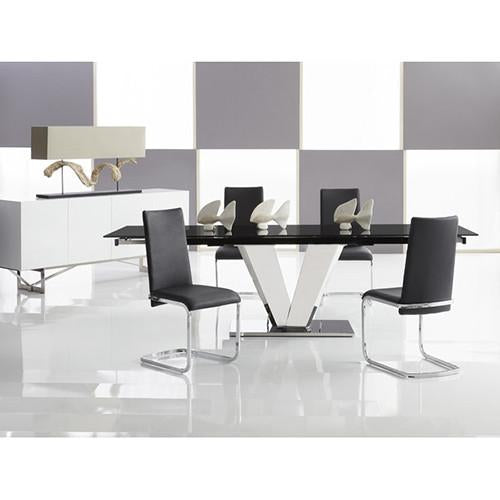 Jolie Side Chair By Bellini Modern Living Furniture Divano San Diego