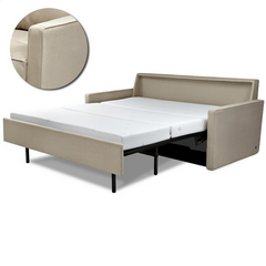 Nathan Leather Queen Comfort Sleeper® - Generation 7