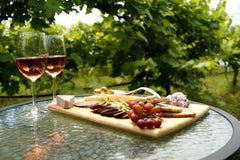 Winecrush charcuterie at winery