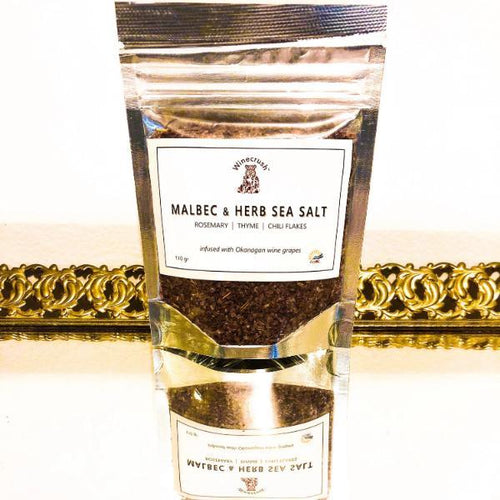 Malbec & Herb Sea Salt™ - Winecrush Gourmet Food