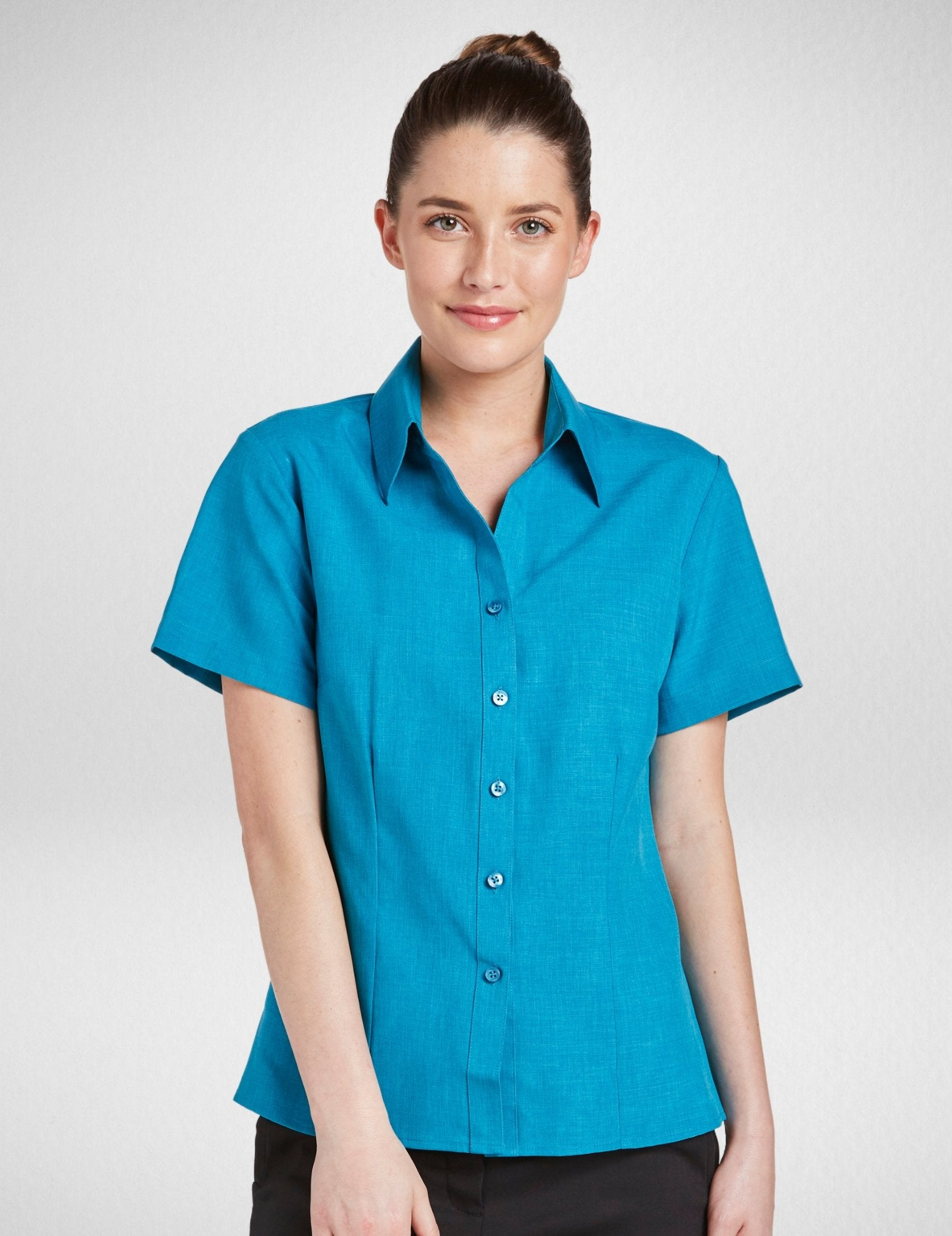 Climate Smart - Ladies semi fit short sleeve (sizes 6-28) - Corporate Reflection