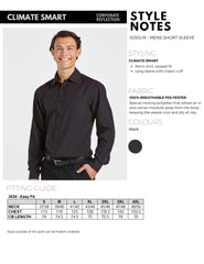 Climate Smart - Mens easy fit long sleeve - Corporate Reflection