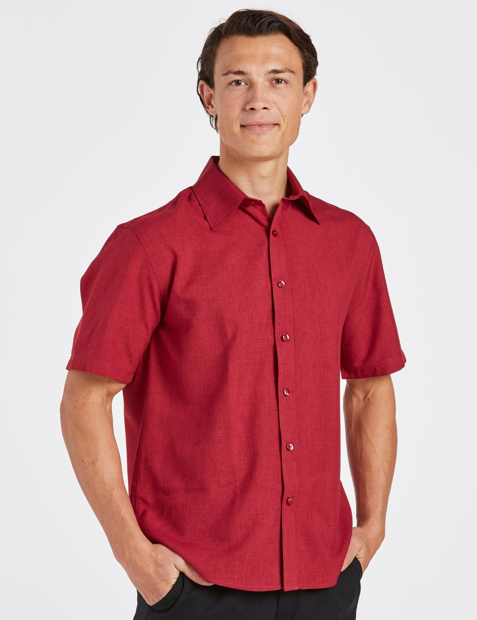 Climate Smart - Mens easy fit short sleeve - Corporate Reflection