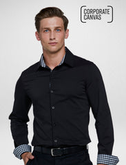 Corporate Canvas - Classic Black Stretch - Corporate Reflection
