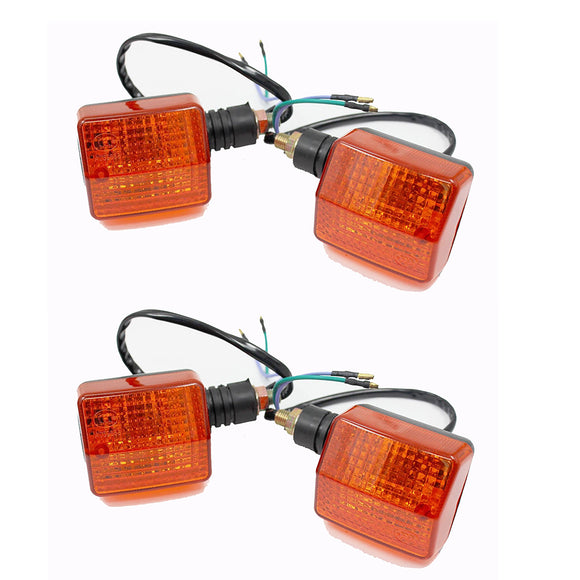 4x LED indicators for Honda CRF250X 450X XR250 XR400 CRF XR VTR CBR 250