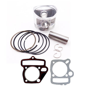 Lifan Piston Rings Gasket 55mm Kit 140cc 15mm Pin ATV Quad Dirt Bike Pit Trail