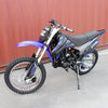 BLUE - TDR 200cc Motocross Motorcycle Dirt Pit Bike, 1-Cylinder, 4-Stroke Air-Cooled, Electric / Kick Start