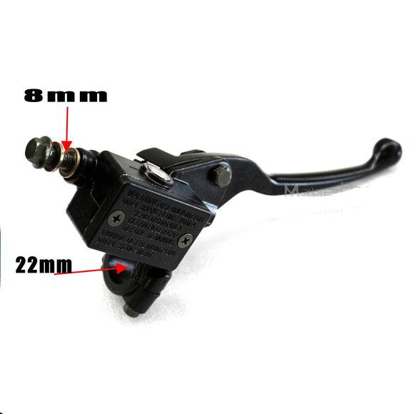 8mm Front Hydraulic Brake Master Cylinder Right Hand 22mm 7/8