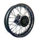 10 Inch Front Dirt Bike Rim 1.60x10 12mm Axle Fit 2.50-10 2.75-10 3.00-10 Tyres