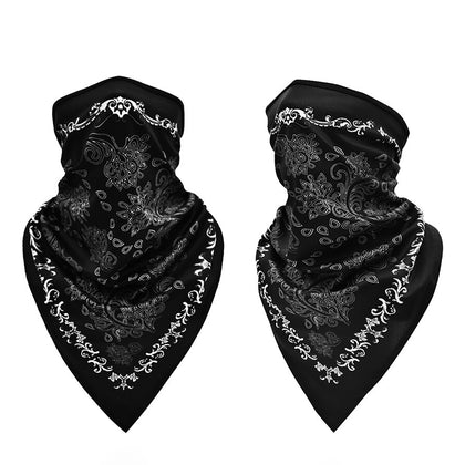 Black Motorcycle Outdoor Sport Ski Cycling Face Neck Protection Cover Balaclava Bandana Mask