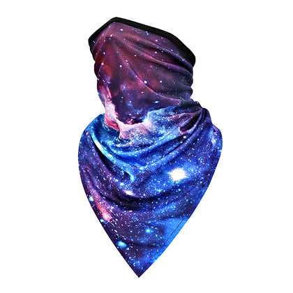 Purple Motorcycle Outdoor Sport Ski Cycling Face Neck Protection Cover Balaclava Bandana Mask