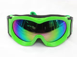 Tinted Childrens Racing Goggles - Green
