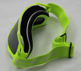 New MX Rainbow Changeable Lens Motocross Dirt Bike Ski Goggles - Yellow