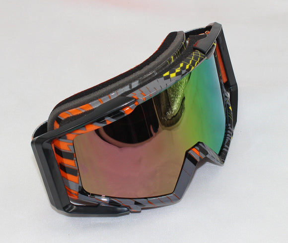 Graffiti Adults UV Snow Snowboard Ski Goggles Helmet Ski Sunglasses Glasses AU - Gray