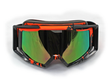 Graffiti Adults UV Snow Snowboard Ski Goggles Helmet Ski Sunglasses Glasses AU - Orange