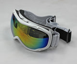 Ski Goggles Snowboard Double Lens Anti-fog Spherical Professional Glasses UV - White