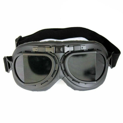Vintage Protective Gears Pilot Cruiser Scooter Retro Goggles Motorcycle Glasses