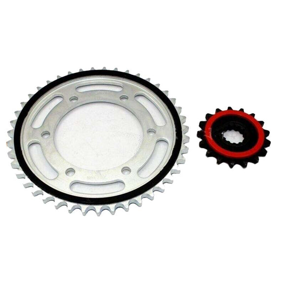After Market Front Rear Sprocket Set for Yamaha R1 2006 2007 2008 520 chain 43T