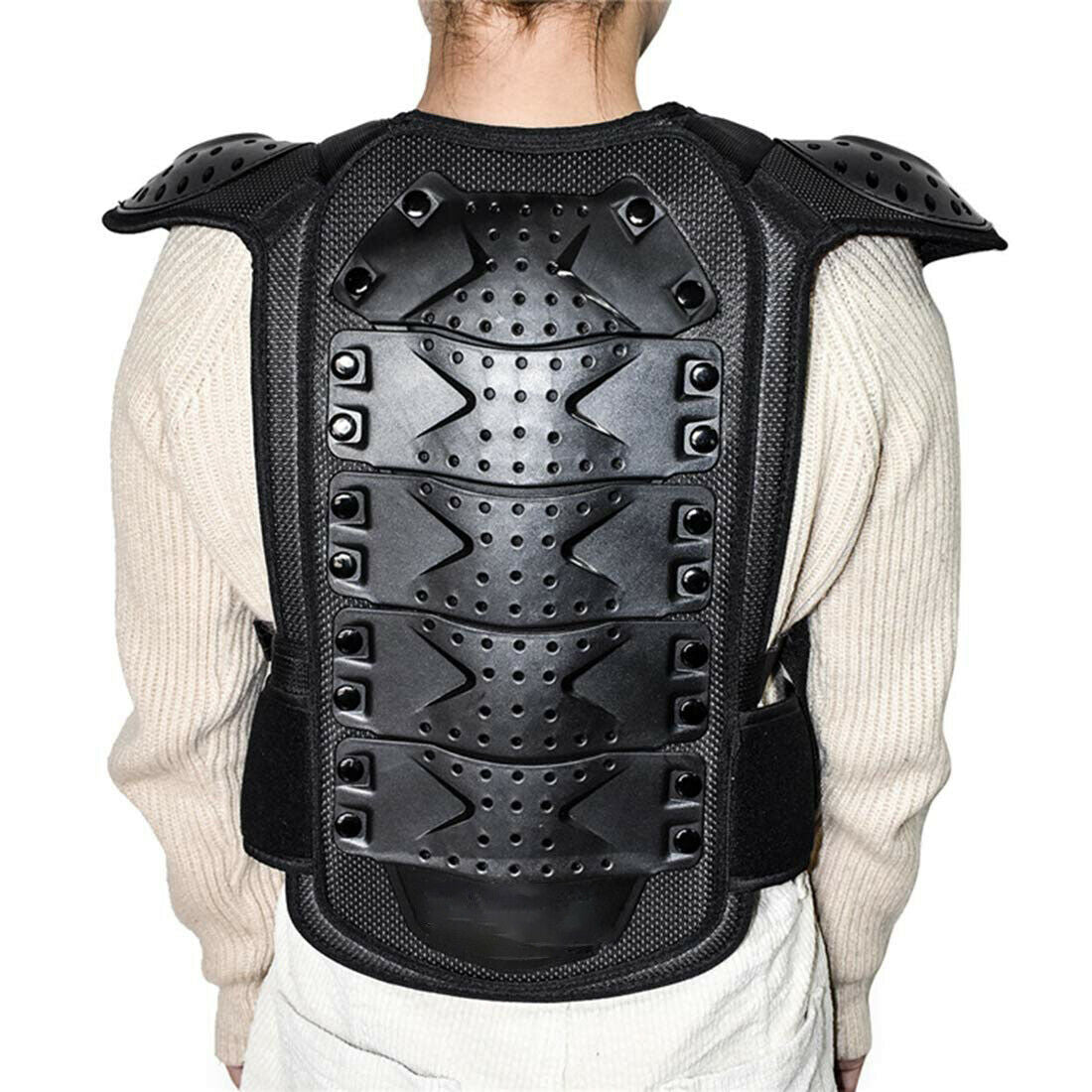 Kid Motocross Sport Chest Protector Vest Motorcycle Racing Body Safety Armor