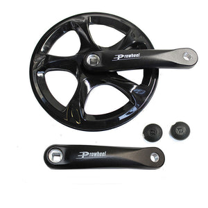 Prowheel 152MM 52T SQUARE TAPER CRANK SINGLE FORGED 152 AU STOCK