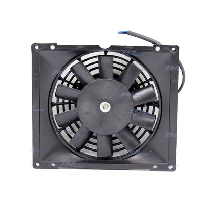 Radiator Thermo Electric Cooling Fan 200c 250cc Quad Dirt Bike ATV Buggy 12V