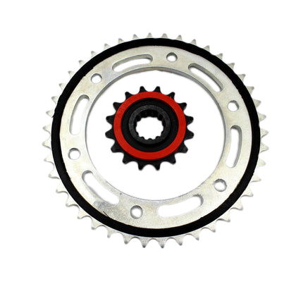 Motorcycle 530 Chain Front Rear Sprockets For Honda CBR1000 2006 2007 2008 2009