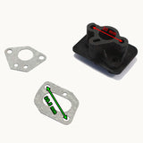 Intake Pipe Inlet Manifold gasket For 43cc 49cc Pocket Bike G-Scooter Cat Eye AU