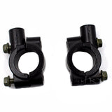 "8mm Mirror Mount Holders Bracket Clamp For 7/8"" 22mm Handlebar ATV Motorcycle"